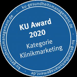 KU Award Klinikmarketing