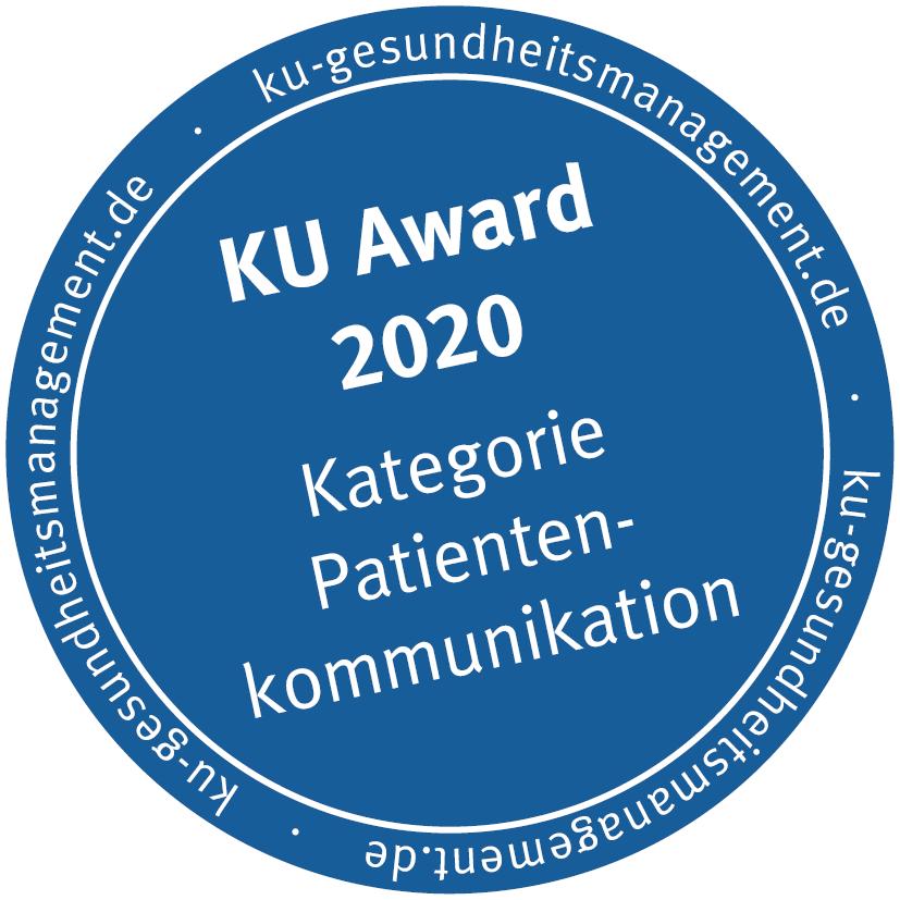 KU Award Patientenkommunikation