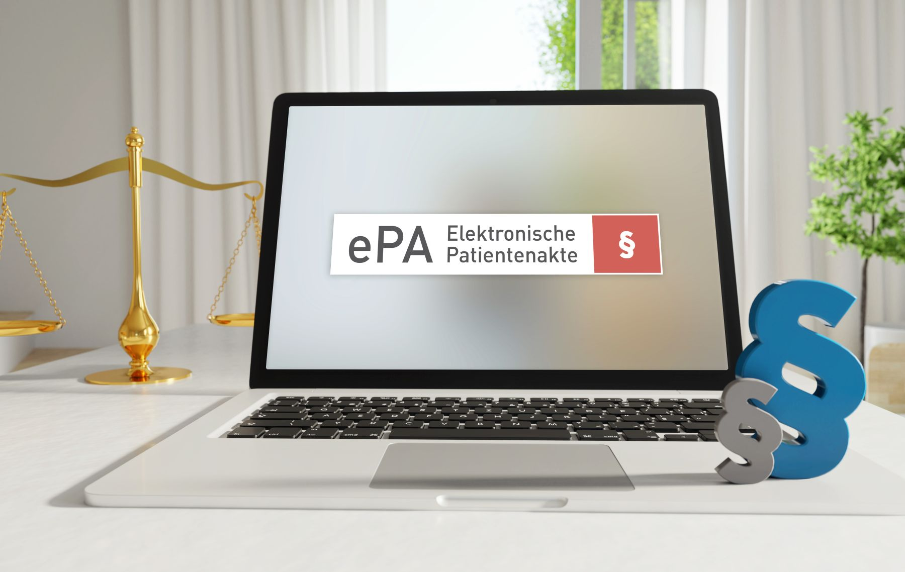 Laptop mit ePA