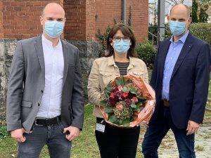 Neuer Kaufmännischer Direktor des Krankenhauses ist Tobias Franke. Rita Diers, bisherige Pflegedienstleiterin, wurde zur Pflegedirektorin ernannt
